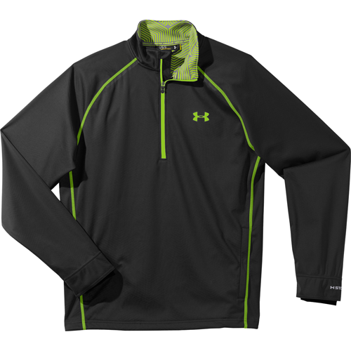 Under Armour Men's ColdGear Infrared Elements Storm ½ Zip Jacket, $85; underarmour.com                       This jacket not only protects you from wind and rain, it also holds in heat to keep you warmer longer, without added weight and bulk.