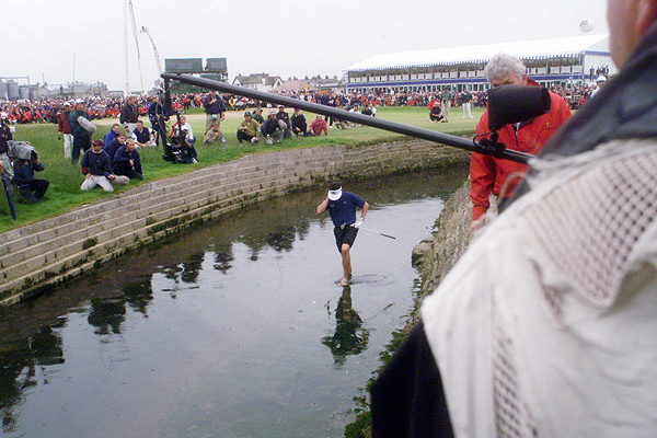 We make an exception to our one-shot rule for Jean Van de Velde, because he threw away the 1999 British Open at Carnoustie with so many mind-bogglingly atrocious shots, and made a similar number of cataclysmically idiotic decisions, that it's impossible to select just one. The situation: In the final round, Van de Velde came to 18 needed a double-bogey six to win. What happened: After a horribly sliced drive, he tried to hit a miracle 185-yard 2-iron to the green instead of laying up for an easy bogey. The ball sailed right, bounced off the bleachers and landed in thick rough in front of a burn. He flubbed his next shot into the burn and hit the ensuing shot (his fifth) into a greenside bunker. After a good sand shot to six feet, he holed the putt for a seven. In the years since, Van de Velde lost his playing privileges on the PGA Tour and the European tours, got divorced and has been forced to not play golf for long stretches because of physical ailments.