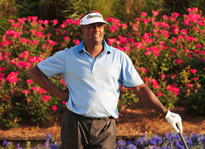 Vijay Singh is embroiled in controversy after he announced this week that he was suing the PGA Tour over the deer antler spray investigation.