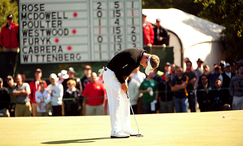 Donald, the No. 1 golfer in the world, has never won a major.