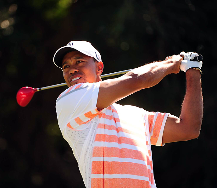 Woods shot rounds of 66, 65, 67 and 71 to take the title.