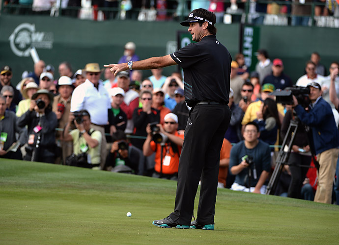 Watson missed his par putt on the deciding 18th hole to hand the victory to Stadler.