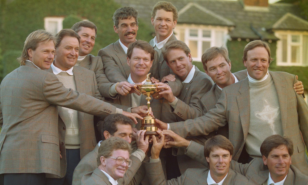 Tom Watson, 1993. Tom Watson did what no U.S. Ryder Cup captain has done since: he won over there, in England, 15-13. There were elements of the Floyd and Stockton captaincies in his skippering, in terms of intensity, but his style was to keep it in the team room. He was not a hugger. He did not obsess over pairings, as every U.S. captain did after him. He did emphasize that Ryder Cup play was part of a player's legacy.