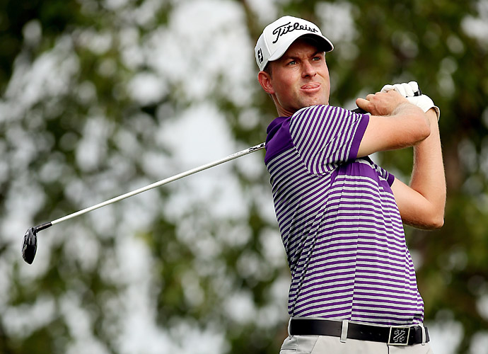 Webb Simpson shot a solid five-under 66 in the second round to take the early lead.