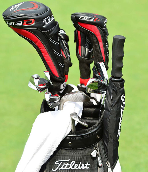 2012 U.S. Open champ Webb Simpson uses Titleist clubs, including Vokey SM4 wedges.