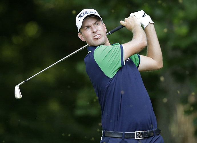 Webb Simpson shot a one-over 72.