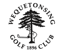 We also doth our cap to Wequetonsing Golf Club (say that three times fast) in Harbor Springs, Mich. It's a simple stamp, sure, but it implies that the club doesn't take itself too seriously.