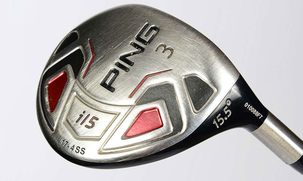 When driver isn't the right play off the tee, Westwood often reaches for this Ping i15 3-wood (15.5°) with a