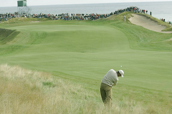 2020: Whistling Straits                     Kohler, Wis.                                          Set along Lake Michigan, the course hosted the 2004 and 2010 PGA Championships. The windswept dunes, fescue and water views give Whistling Straits the feeling of a links course.