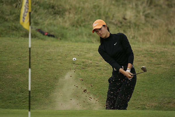 In 2005, Wie was not only the lowest-scoring amateur in the field at the Women's British Open at Royal Birkdale, but she also finished tied for third by shooting 75-67-67-69.