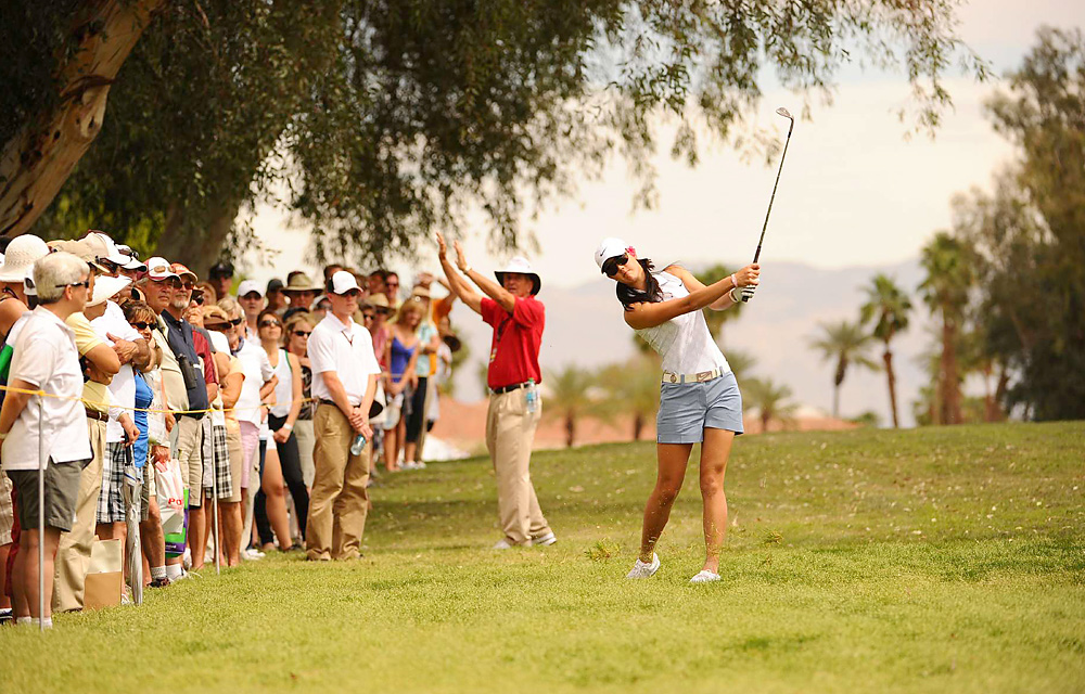 Michelle Wie                       While juggling college classes at Stanford with life on tour, Wie notched seven top-20 finishes but failed to win an event in 20 starts. Wie's best result was a T2 in August's Canadian Open, which she won in 2010.