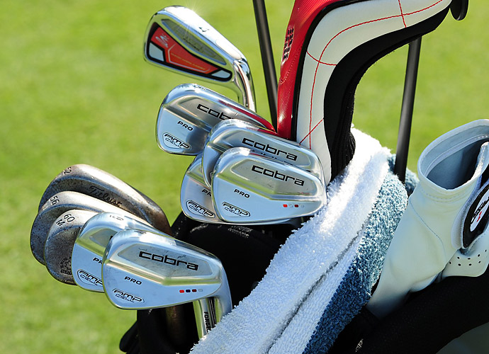 Will MacKenzie plays Cobra AMP Cell Pro irons.