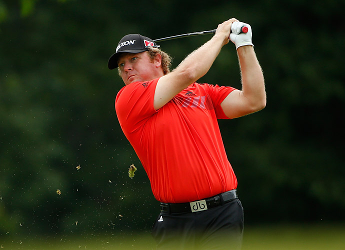 William McGirt shot a 66 to tie Johnson for the lead.