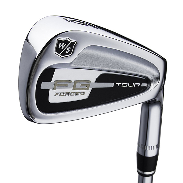 $799, steel                     wilsonstaff.com                     This forged cavity-back design has the                     traditional visual cues (thin topline,                     square toe, minimal progressive offset)                     that better players look for. Distributing                     extra weight toward the toe positions                     the club's center of gravity (CG) directly                     behind the hitting area. The net effect                     is greater head stability and precise                     feedback. CNC-milled grooves and                     a higher CG (for higher spin rates)                     round out the package.