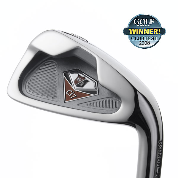 """Winner: Irons — Game-Improvement                       Wilson Ci7                       $ 499, steel; $ 599, graphite; wilsongolf.com                                              Plain and simple, these clubs have your back. Redistributing head weight, through the use of an undercut cavity, builds in stability. Our average Joes revel in the soft, sweet instant feedback, the above-average carry distance and sporty amount of helpfulness. Testers are also pleasantly surprised by their ability to hit longer irons. At the same time, these are precision tools that would allow better players to attack tough pins.                                               """"Very good distance on misses plus clean escapes from rough make these a pleasure to play."""" — Dave Daumit (15)                                              • More Game-Improvement Irons"""