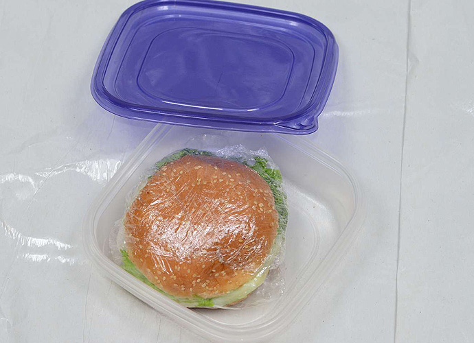 You've got to keep your lunch safe in your bag.
