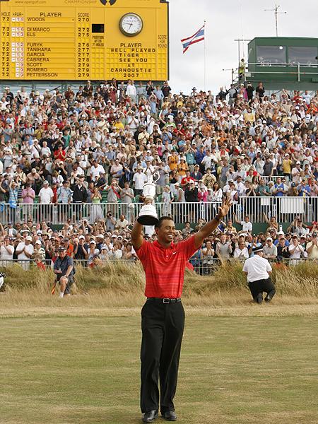 Tiger Woods, United States• 2000 (St. Andrews) • 2005 (St. Andrews) • 2006 (Royal Liverpool), left