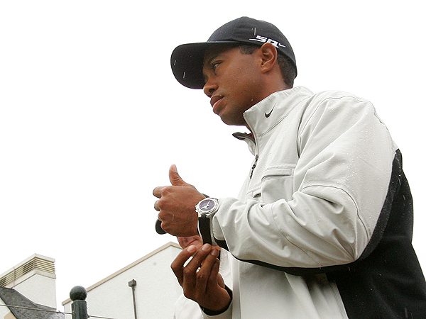 According to Ladbrokes, a large English bookmaker, Tiger Woods is the favorite to win the 136th Open Championship with odds of 4 to 1.