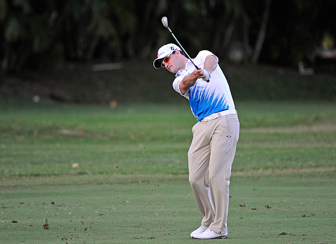 Zach Johnson, who won last week at Kapalua, had a 67 on day two to get to five under.