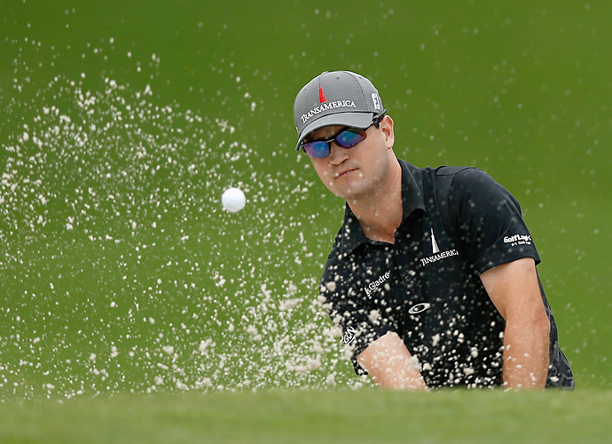 Defending champion Zach Johnson had a 69 on day one.
