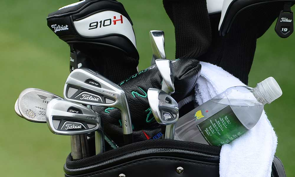 Zack Johnson, who won the 2007 Masters, hopes these Titleist 712 AP2 irons can help him earn a second green jacket.