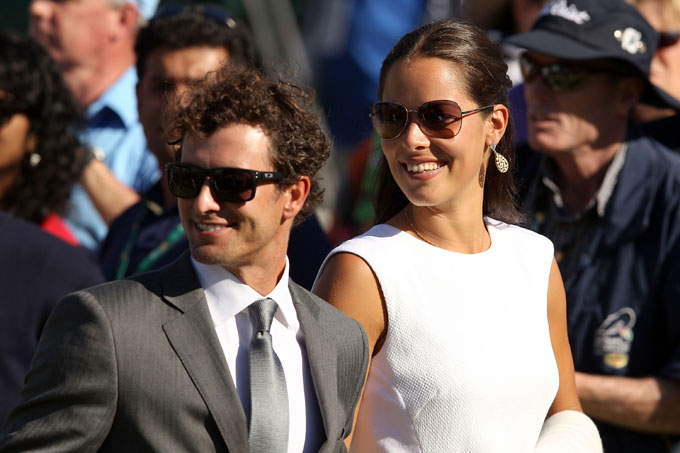 Adam Scott and Ana Ivanovic got dressed up for the opening ceremonies of the 2011 Presidents Cup.