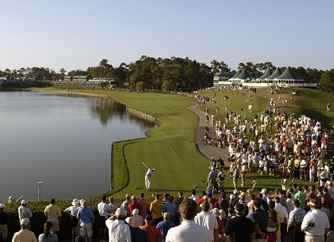 11. Numbers Game: The scariest hole in golf, the par-3 17th, is nowhere near the toughest on the TPC Sawgrass Players Stadium course. According to the scorecard, the 442-yard, par-4 7th is the Number 1 handicap hole. For the PGA Tour pros, the 462-yard, par-4 18th (pictured) played toughest in 2013, with a stroke average of 4.393.