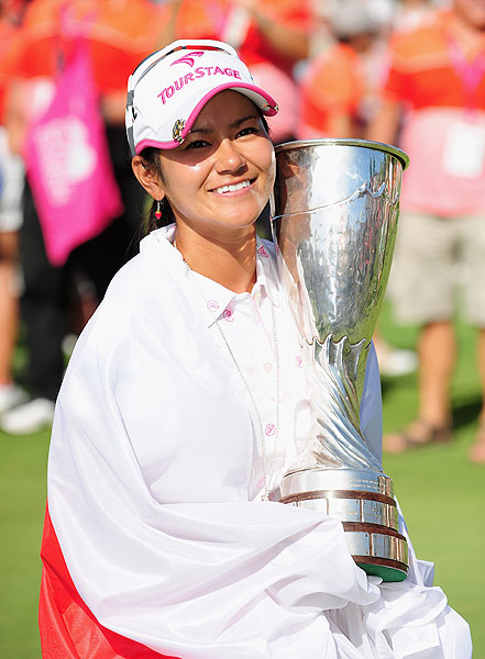 Final round of Evian Masters                       Japan's Ai Miyazato won her first LPGA event Sunday at the Evian Masters.