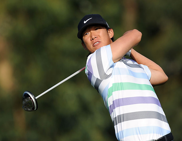 Anthony Kim shot rounds of 78-77, and then he was disqualified for signing an incorrect scorecard.