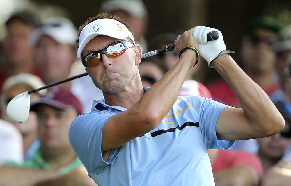 Robert Allenby: F                       Record: 0-4-0                       Sorry, Shark, match play key is putting, not local knowledge. You chose ... poorly.