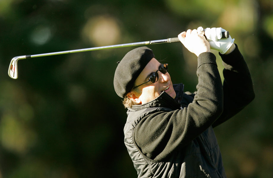 Andy Garcia, Lakeside Golf Club, BurbankGarcia at the 2008 Pebble Beach Pro-Am.