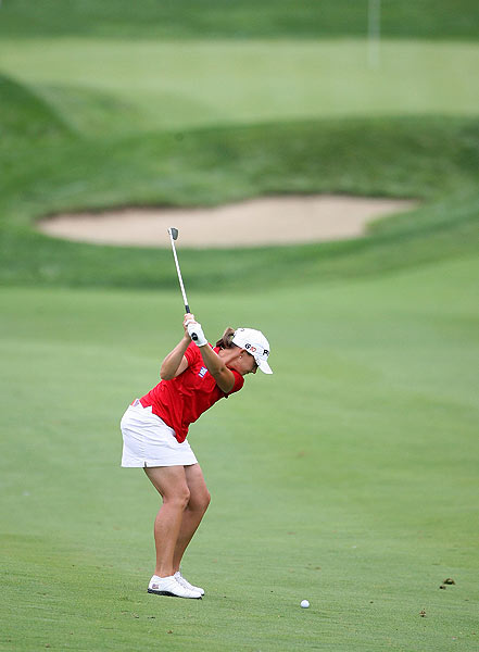 Angela Stanford shot a two-under 70.