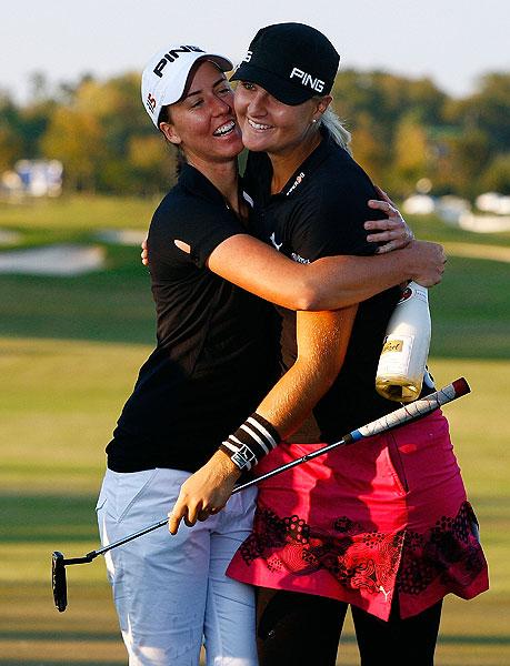 won the LPGA Tour Championship by two strokes.