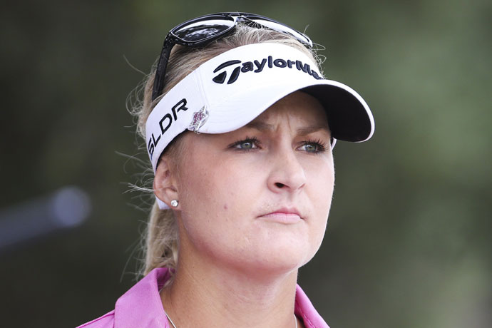 Nordqvist currently ranks fourth on the LPGA Tour in greens hit in regulation.