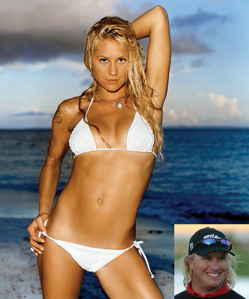 "Sexy SwingersWe asked the PGA Tour's biggest stars to name the female celebrity they'd most like to, ahem, give a lesson to. No one was brave (or foolish) enough to pick Tiger's wife, but these dream dates are more at home being knockouts on the red carpet than hitting knockdowns on the range. Find out which PGA pro has a ""Rollergirl"" fantasy.                                          Anna Kournikova                     Retired tennis player, 26                     ""She doesn't do much these days. I'd give her a few lessons and she could give me tennis lessons.""                     - Charley Hoffman"