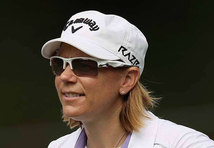 """The question is: I won Evian, does that count as a major, Mike?  Will you add that to the list?""                       --Annika Sorenstam on to LPGA commissioner Mike Whan on the LPGA making the Evian Masters the tour's ""fifth"" major this year. Whan's response: ""Next question."""