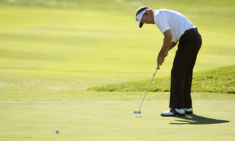 Stuart Appleby shot a disappointing even-par 72.