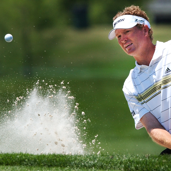 Tim Petrovic, the only player to win a tour event at the TPC-Louisiana, finished three strokes off the lead at five under par.
