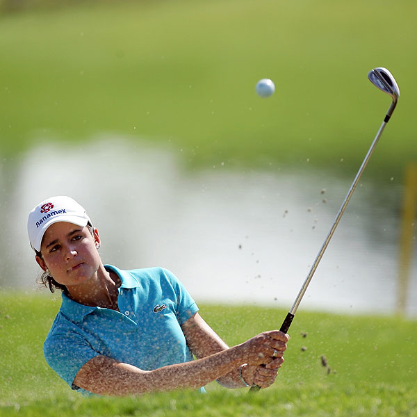 After shooting 77 on Saturday, Mexico's Lorena Ochoa couldn't come back on the final day, finishing at one over par.