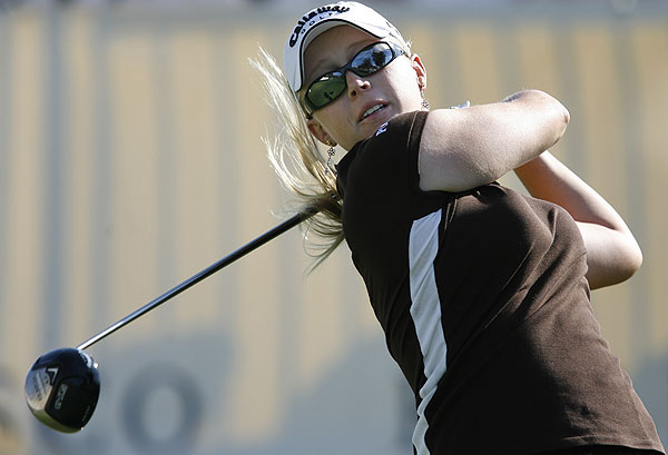 With her victory at the Kraft Nabisco Championship on Sunday, 18-year-old Morgan Pressel became the youngest winner of an LPGA major.