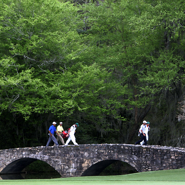 In 1958, Augusta National dedicated a bridge at No. 13 tee to honor Nelson's victory in 1937. Nelson birdied No. 12, then he eagled 13 to pick up six shots on Ralph Guldahl.