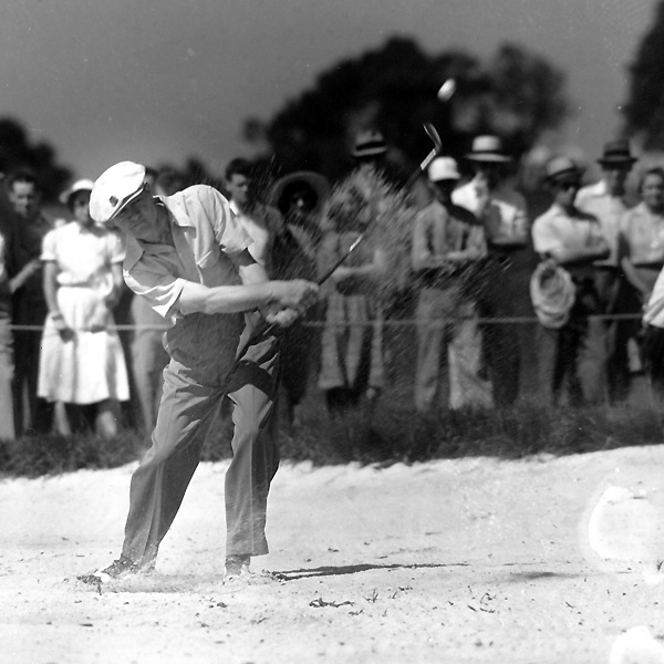 From 1944 to 1946, Nelson won 34 tournaments, and he finished second 16 times.