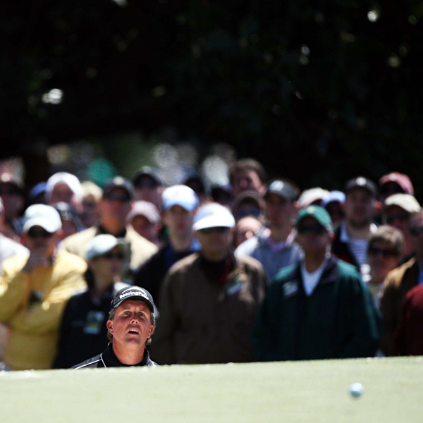Phil Mickelson started the day with a triple-bogey 7 on the 1st hole. He finished 11 over par.