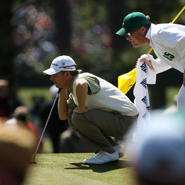 David Toms made four bogeys and four pars to shoot 72. He finished in ninth place at six over par.