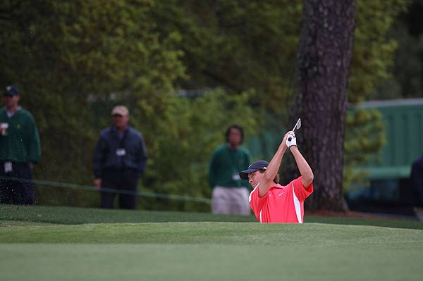 Stephen Ames dropped down the leaderboard after he shot 77 on Saturday. He is at one over par.