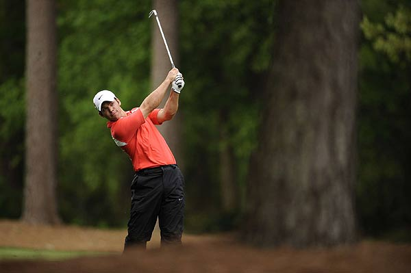 Paul Casey is four strokes off the lead after a third-round 69.