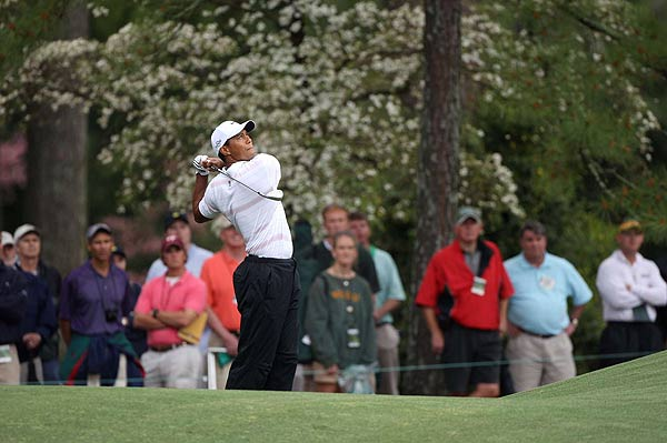"""""""I put myself right back in the tournament,"""" Woods said after his round. """"This was as high a score as I could have shot today, and if I have a few more putts go in I'm right there, but I'm still right there anyways."""""""