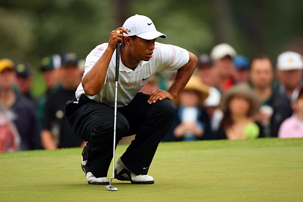 Quotes of the Day: Saturday                     Q. Is it an important notch in your belt to win a major coming from behind or does it not matter?                                          Tiger Woods: You want to win the Masters, period. Doesn't really matter how you do it as long as you do it.