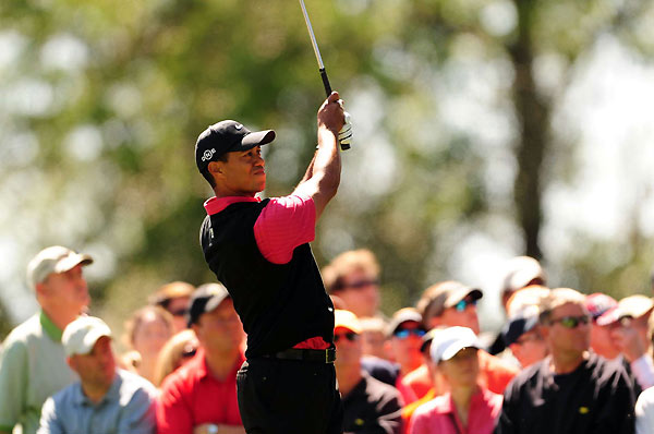 Quotes of the Day: Sunday                     Q. Your strength has always been playing for the moment. I just wonder, with all the talk of the Slam, was there anything in your mind about that at all? You were the one, of course, who first presented it and we jumped all over it.                                          Tiger Woods: I learned my lesson there with the press. I'm not going to say anything. It's just one of those things when you're out there playing, you couldn't care less. You're trying to win a golf tournament.
