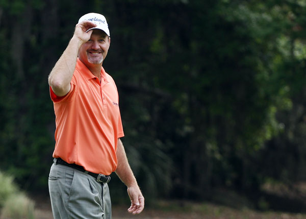 scored his second ace on the par-3 fourth hole. Kelly also made a hole-in-one in 2007.
